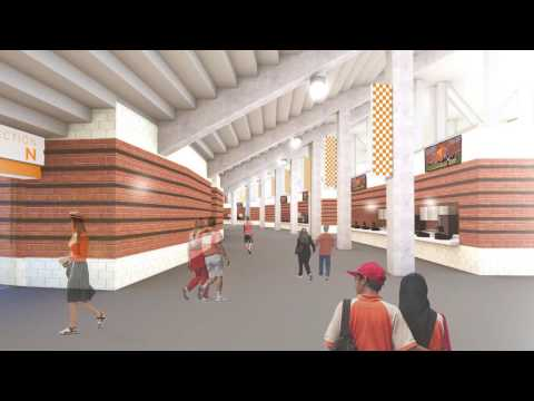 University of Tennessee Neyland Stadium Renovation Details