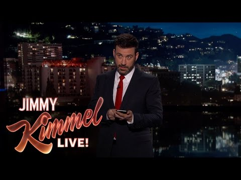 "Jimmy Kimmel on ""A Day Without a Woman"""