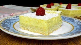 Настоящее воплощение нежности-Лимонные пирожные.Тают во рту!