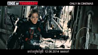 Edge Of Tomorrow - Official Trailer - Khmer Sub