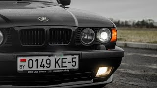 Идеальная BMW E34 540i ЛЕГЕНДА 90-Х