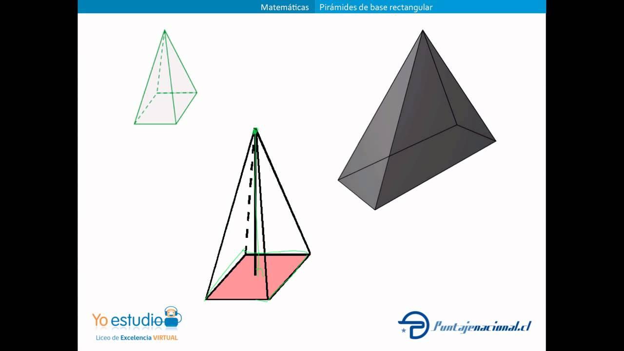 Pirámides De Base Rectangular