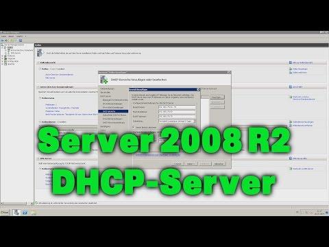 DHCP-Server einrichten - Windows Server 2008 R2 - DEUTSCH