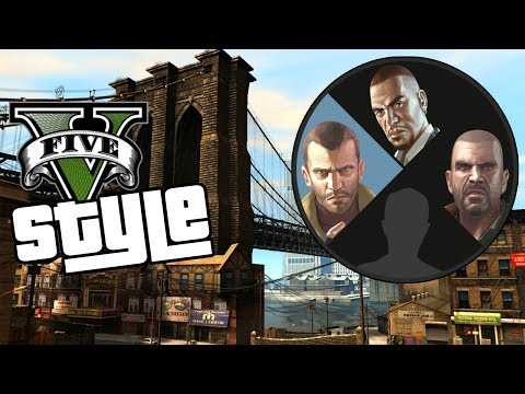 GTA IV - V Style MOD thumbnail