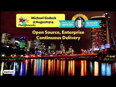 Open Source Enterprise Continuous Delivery for Drupal