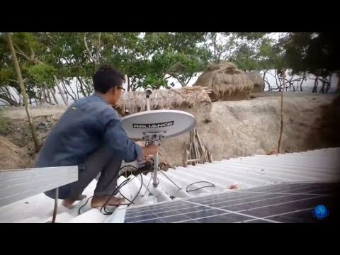 Videocon D2h Setting||Reliance Big Tv Dish Setting At Village|| #dthforyou