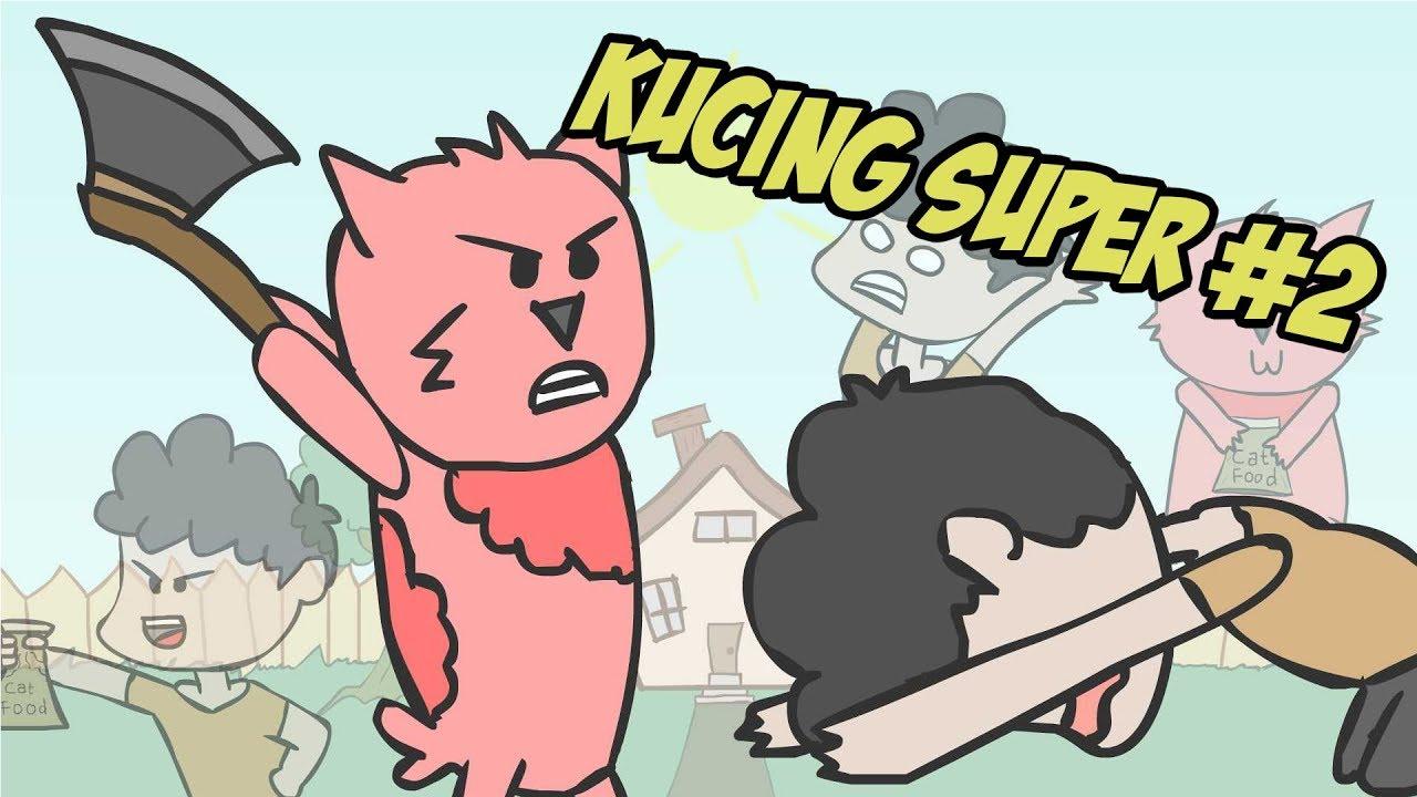 Selalu Kalah Dari Kucing Sendiri My Super Cat Funny Cartoon Kartun Lucu Animastrip