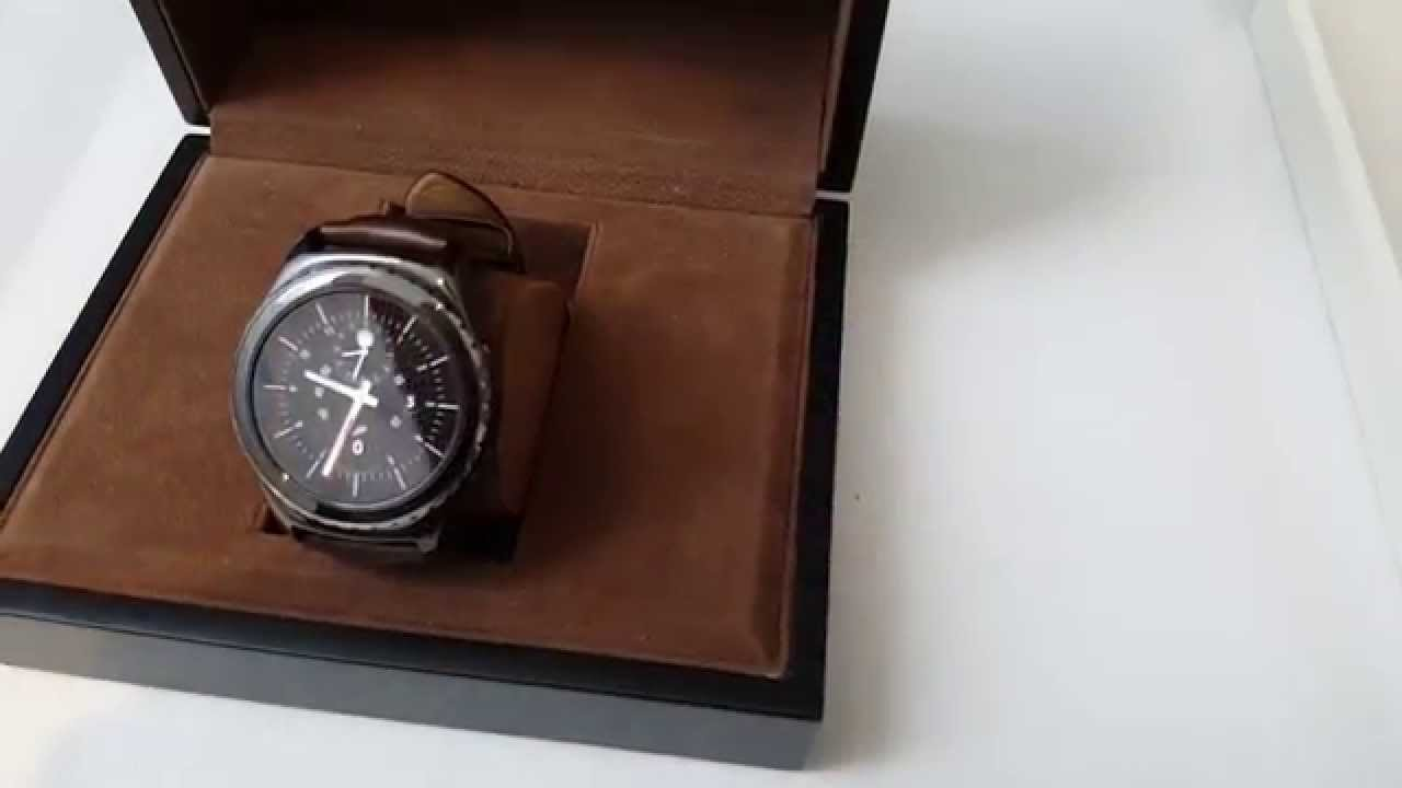 la samsung gear s2 ifa 2015 youtube. Black Bedroom Furniture Sets. Home Design Ideas