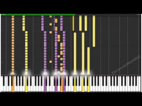 [Midi Synthesia] Naruto - The Raising Fighting Spirit [Piano Tutorial]
