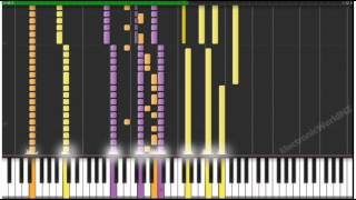 [Midi Synthesia] Naruto - The Raising Fighting Spirit