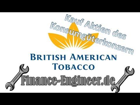 Tabakkonzern British American Tobaco BAT im #Aktiendepot