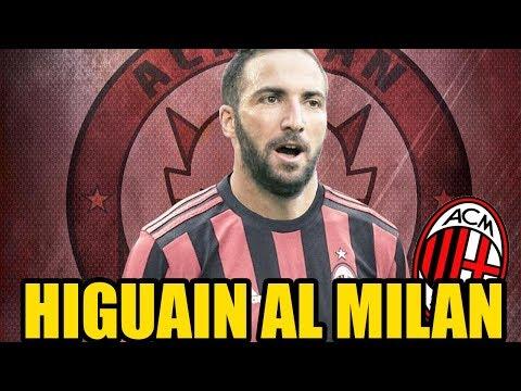 HIGUAIN al MILAN? || SOGNO o REALTÀ? || Calciomercato Milan