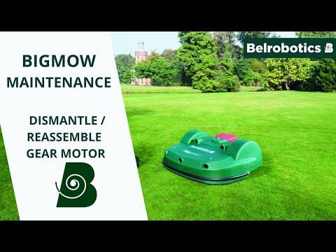 Belrobotics-Bigmow Connected Line Maintenance: Dismantling / Reassembling The Gear Motor