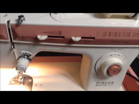 Singer Merritt 2404 Sewing Machine HOW TO THREAD MACHINE ~ Beginner Sewer