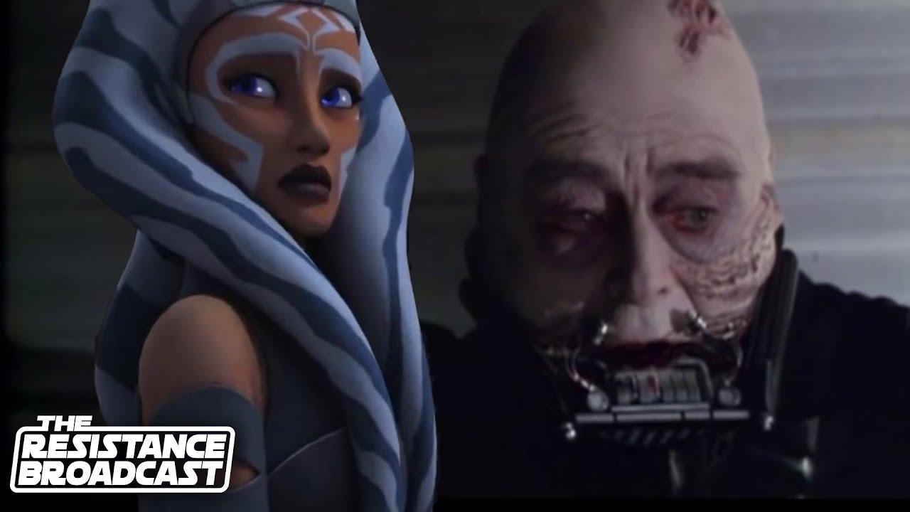The Resistance Broadcast Did Ahsoka Sense Anakin Skywalker S Redemption Star Wars News Net