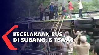 Kecelakaan Bus di Subang, 8 Tewas dan Puluhan Luka-Luka