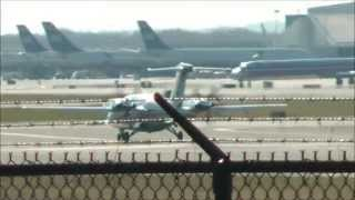 [HD] Avantair Piaggio P-180 Avanti Philadelphia Intl Airport