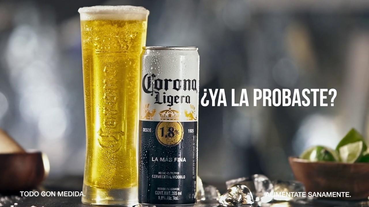 Corona Ligera: Con todo el sabor de Corona