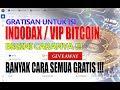 Isi Indodax ( VIP BITCOIN ) dengan GRATIS, Lengkap Cara Withdrawnya (UPDATE TERBARU BACA DESKRIPSI)