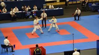 Bosnia - Ukraina,Team Kumite, European Karate Championship 2018