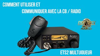 ETS2 | How to use the CB radio in Multiplayer