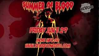 "Wednesday 13 ""Summer of Blood Tour"" - Live @ Reverb 6/29/2012"