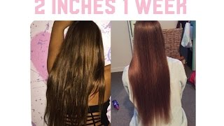 How to GROW your HAIR SUPER LONG Healthy and Radiant