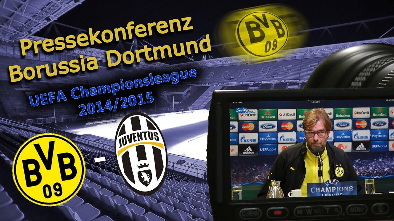 UEFA Champions League : Borussia Dortmund - Juventus Turin : PK mit Jürgen Klopp und Mats Hummels