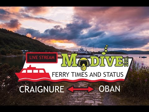 MdiveLtd Live Stream from Craignure, Isle of Mull.