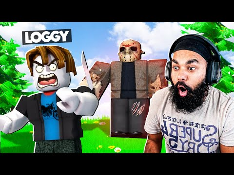 MONSTER IS CHASING LOGGY WITH KNIFE | ROBLOX