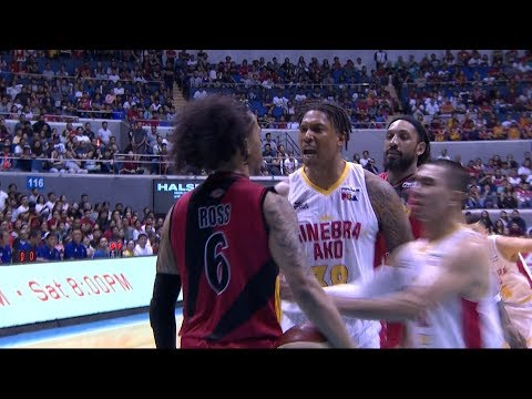 Chris Ross, Joe Devance Get Into HEATED Altercation in Game 2 (VIDEO)