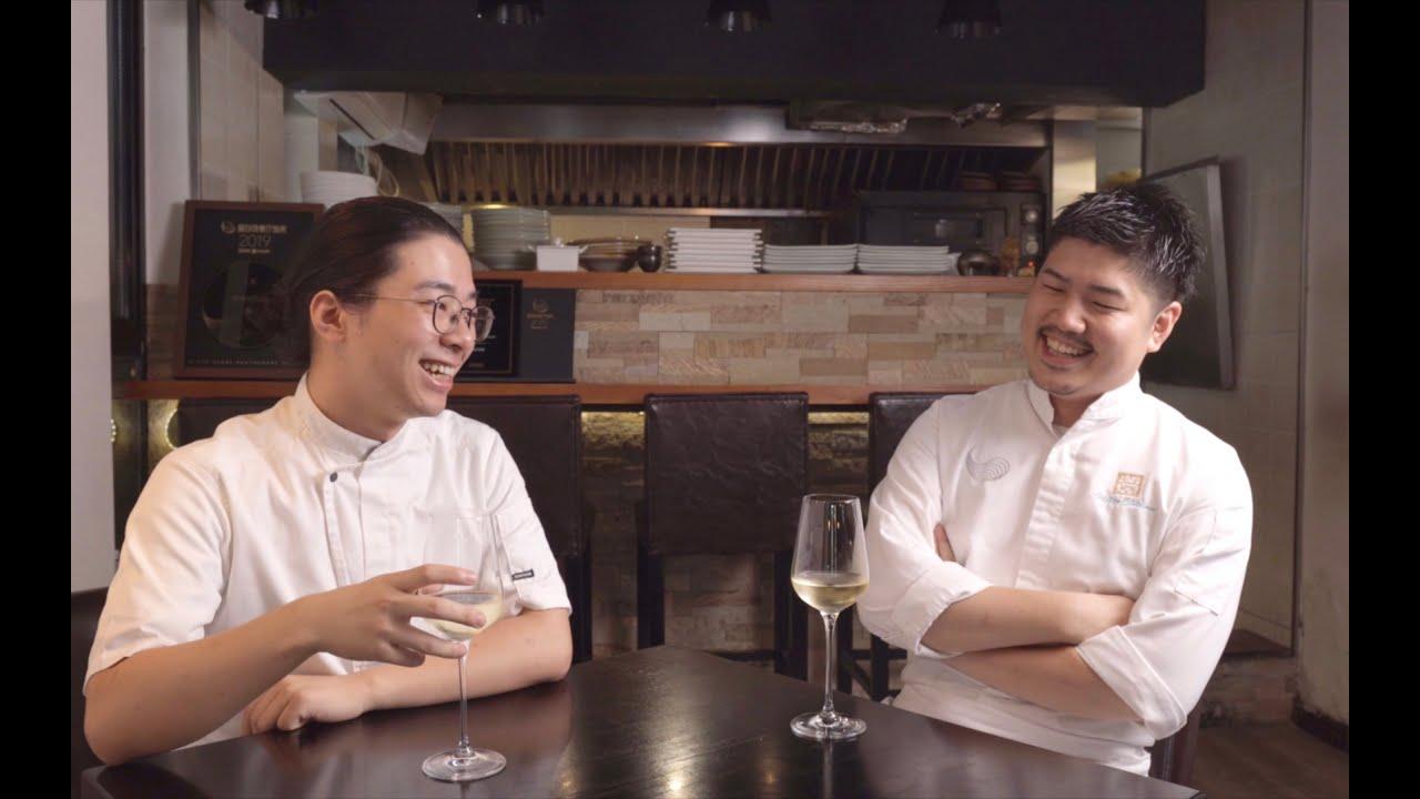 中日兩位年輕小哥,一起聊聊做廚師是什麼體驗~