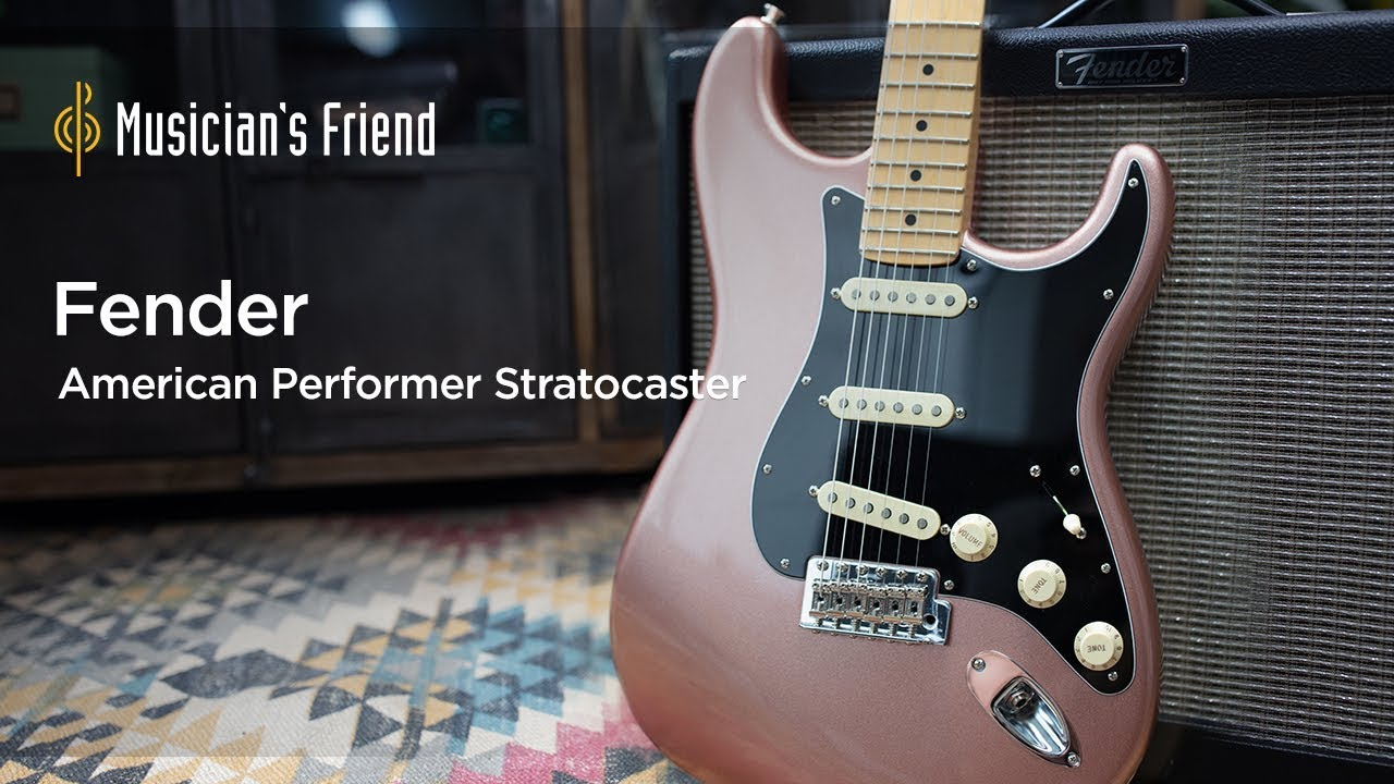 fender american performer series announced features specs and more the hub [ 1280 x 720 Pixel ]