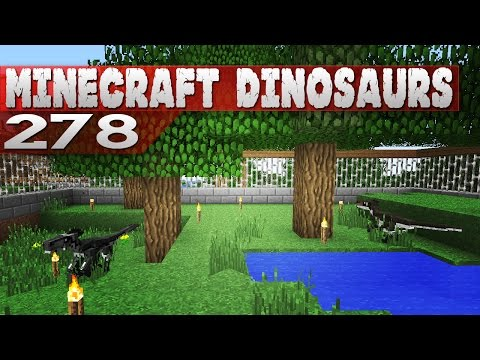 Minecraft Dinosaurs! || 278 || Deinonychus move