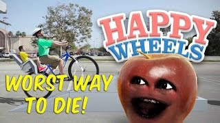 Midget Apple - Happy Wheels: WORST WAY TO DIE!