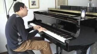 Debbie Reynolds - Tammy (jazzy piano arr. by Luca Moscardi)