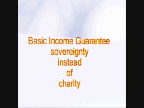 Get BIG for Haiti - Basic Income Guarantee- Sovereignity instead of charity