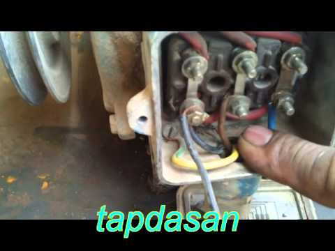 3 Phase Motor 380 V To Single Phase 220 V Operation Youtube