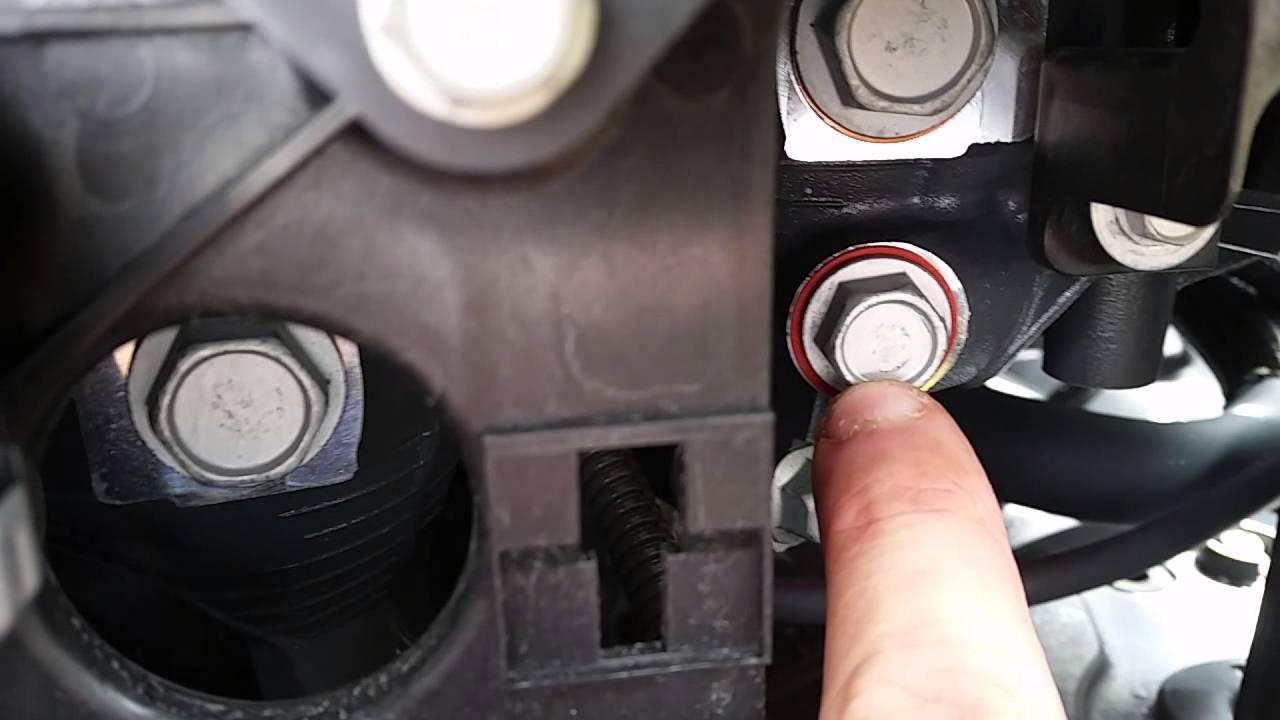 Yamaha F300 water pressure sensor location