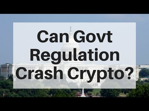 Will Government Regulation Pop the Crypto Bubble?