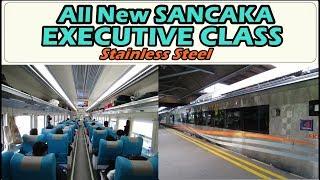SANCAKA EXECUTIVE NEW IMAGE Trip Naik KA Sancaka Pagi Surabaya Yogyakarta