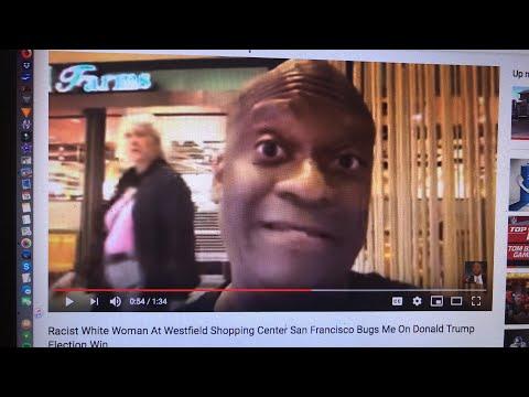 Racist White Woman At San Francisco Shopping Center Bugs Zennie62 - Update