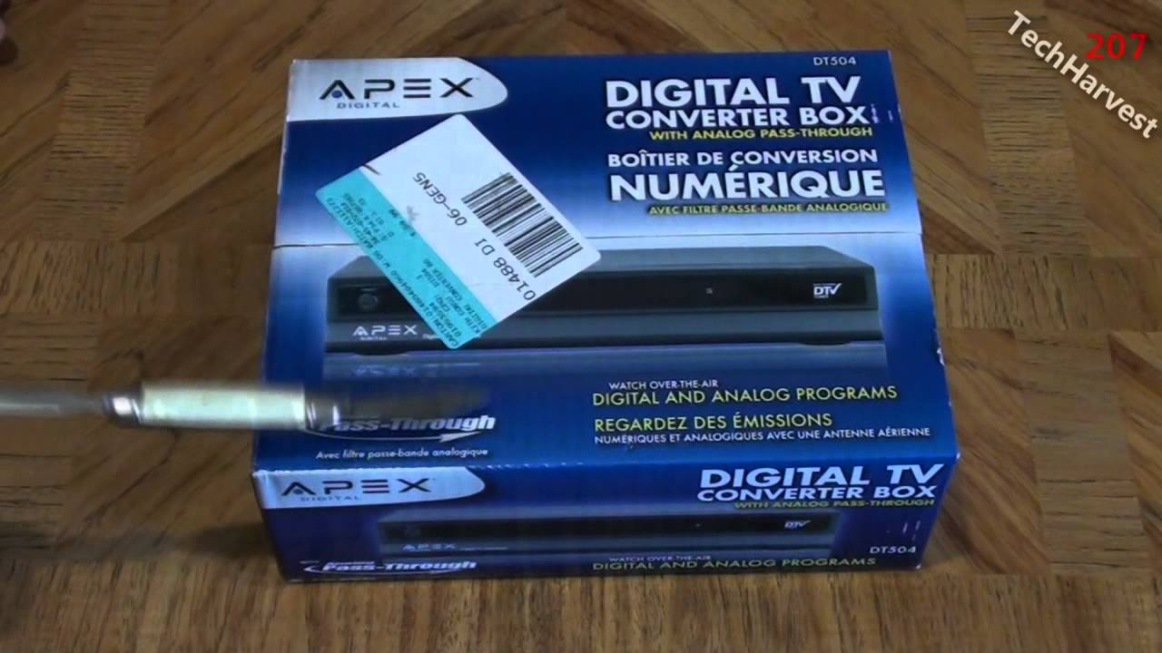 apex digital tv converter box unboxing youtube rh youtube com Digital TV Converter Box kcpi digital tv converter box manual