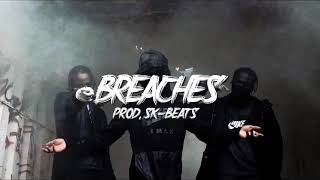 "SJ X Double Lz X Bandokay Type Beat ""Breaches""   UK Drill Instrumental [Prod. SK-Beats]"