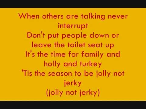 SpongeBob SquarePants - Dont Be A Jerk (It's Christmas) Lyrics
