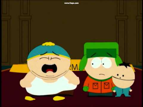 Kenny Punches Cartman In The Face