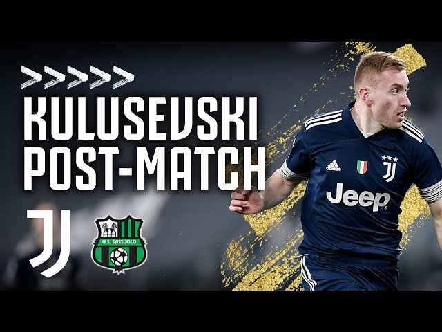 🎙 Dejan Kulusevski Post-Match Interview | Juventus 3-1 Sassuolo | Serie A