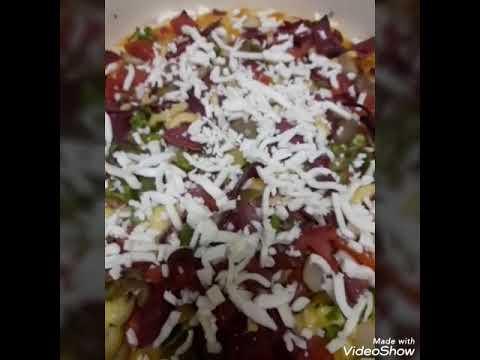 صورة  طريقة عمل البيتزا طريقه عمل البيتزا من مطبخ حلو و حادق مع مدام رشا 🍕 طريقة عمل البيتزا من يوتيوب