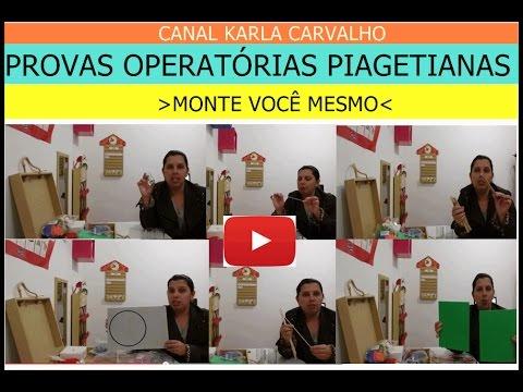 1e420b38556 DYI - FAÇA VOCÊ MESMO - 1O. VÍDEO - PROVAS OPERATÓRIAS PIAGETIANAS ...