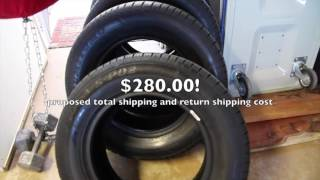 If: Tirerack Purchase, Then: Almost Scammed!